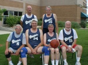 Senior BBall Team - Parker