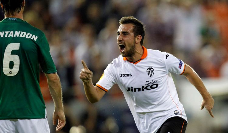 Paco Alcacer: the crown jewel of Valencia's academy and the potential heir to David Villa's throne.